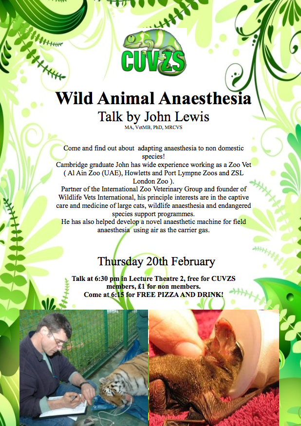 Zoo Animal Anaesthesia